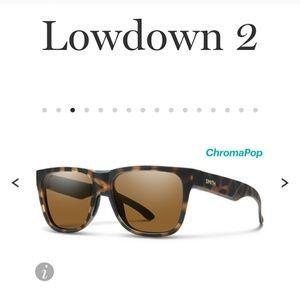 Nwt SMITH optic lowdown 2 sunglasses popular sport
